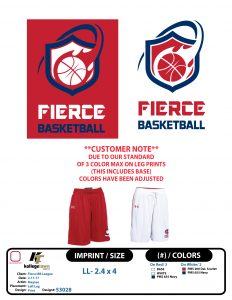 fierce select basketball pants
