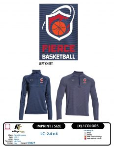 Austin Select basketball Fierce Pullover