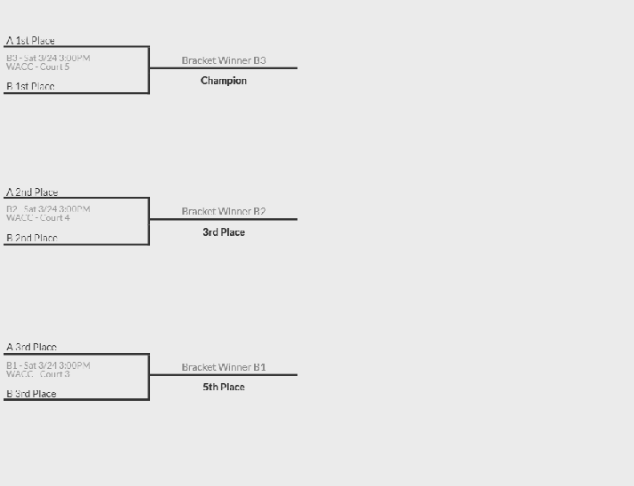 2024 Fierce Bracket for 3/24 Basketball Tournament