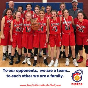 Austin Girls Select Team Basketball Family